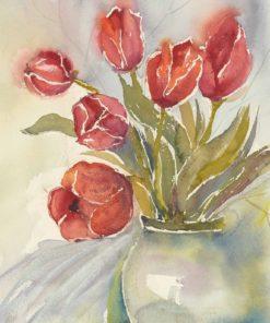 Tulpenstrauß - Karten für das ganze Jahr