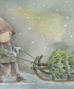 Mit Weihnachtskarten doppelt Freude schenken